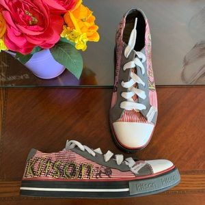 Women's Kitson Patch & Embroidered Sneakers